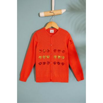 Orange Girl Child Sweater Hirka G084SZ0TH.000.817716