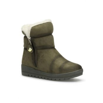 Green Women's Boots DS.0502