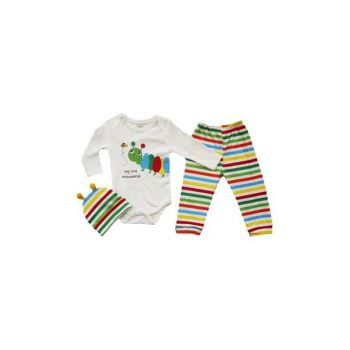 Multicolor Unisex 6-9 Months Caterpillar Body Kit 3 Piece 13787