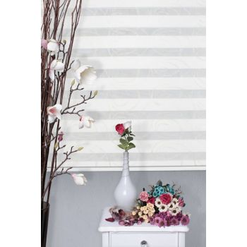 Zebra Roller Blinds Curtain + Skirt Slice Gift Z-101V803