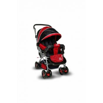 Aldeba 8028 Two Way Baby Carriage - Red / 3762