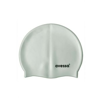 Women's Silicone Pool Cap Gray AVS212519