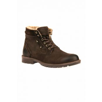 Genuine Leather Brown Men Boots 8322 225221