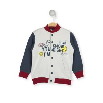 Smile Snap Sweatshirt 80551