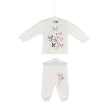 Aziz Bebe Girls Baby Badi Trousers Bottom Top 2 Set 0-24 Months 2801 AZZ002801