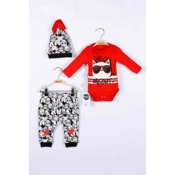 Baby Boy Badi Trousers Hat 3-Piece Set 14714 MINI14714