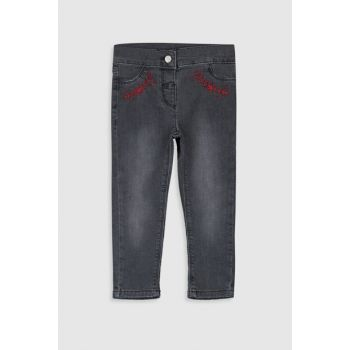 Baby Girl Gray Rodeo Grd Pants 9WN458Z1