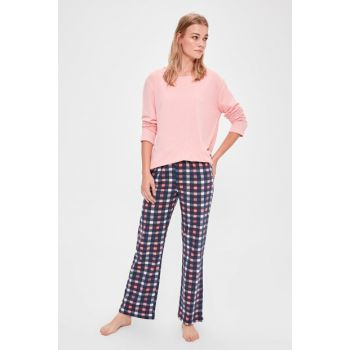 Multi Color Plaid Pajama Set THMAW20PT0192 THMAW20PT0190