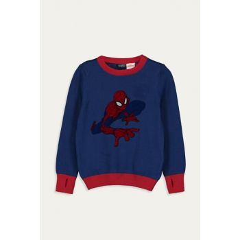 Boy Child Outdoor Navy Blue Hkf Sweater 9W1144Z4