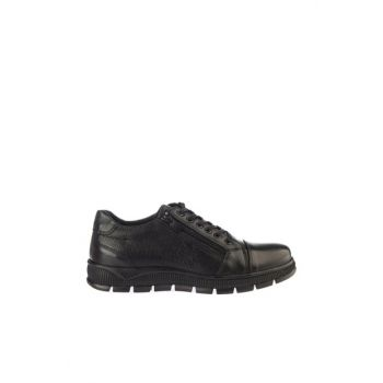 Black Men's Classic Shoes 02AYY162590A100