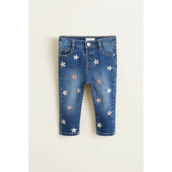 Open Denim Baby Girl Trousers 33097015