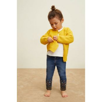 Medium Denim Baby Girl Pants 33090992