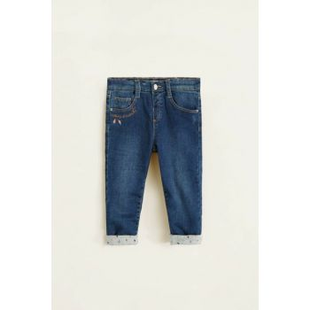 Dark Denim Baby Girl Pants 33000766