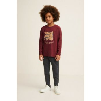 Wine Red Boy T-Shirt 33055007