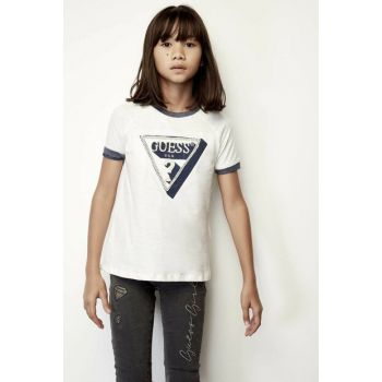 Girls' White T-Shirt 19FWGJ94I08