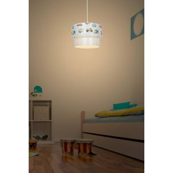 Deco Pendant Lamp - Car Patterned Child / Teen Room Lighting ASZ.0969