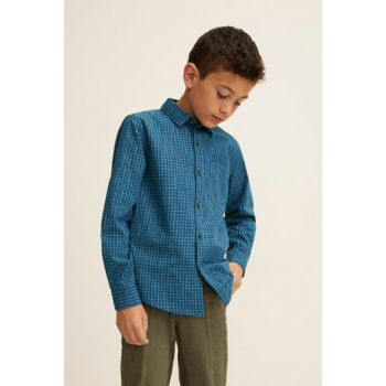 Men's Oil Shirt with Green Year 33960623