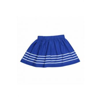 Navy Blue Girls' Skirt WK16S1707