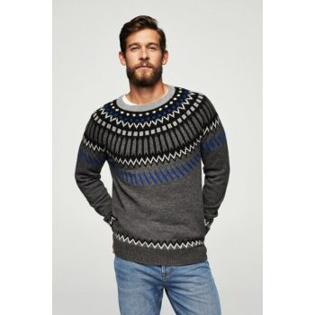 Men's Dark Gray Pullover 13008820