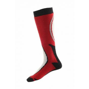 Ski & Snowboard Socks Red / Black PNZ-184334RDBLK127