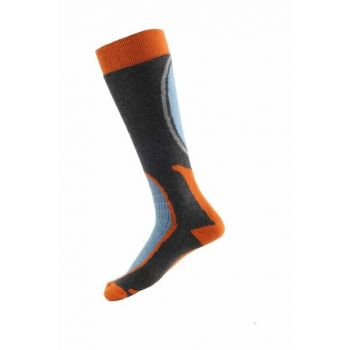 Ski & Snowboard Socks Orange / Black PNZ-184334SMOK30P