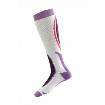 Ski & Snowboard Socks Purple / White PNZ-184334PURP36B