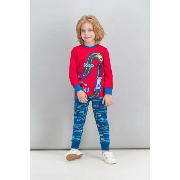 Formula Cars Race Red Boy Pajamas Set RP1546-C-V2