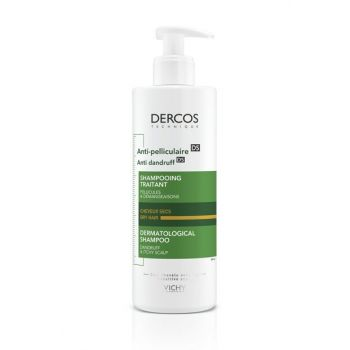 Dercos Anti-Dandruff Anti-Dandruff Shampoo for Dry Hair 390ml 3337875492799