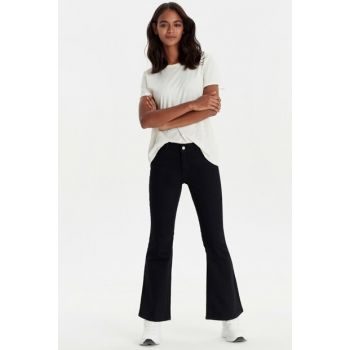 Women Black Rodeo Pants 9WG750Z8
