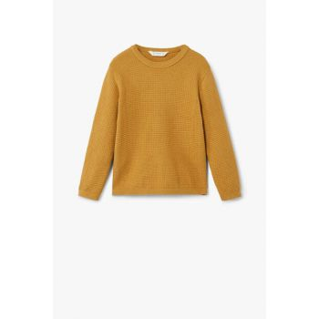 Mustard Color Boys Sweaters 33060624