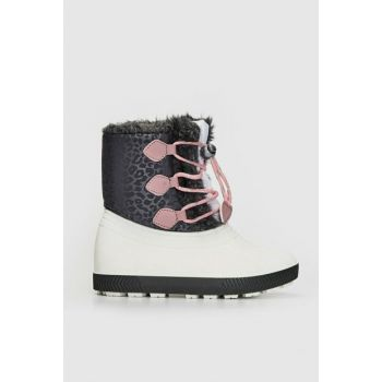 Girls' White J5E Snow Boots 9W9773Z4