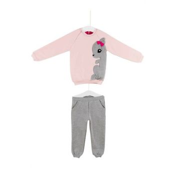 Saint Bebe Baby Girl Tracksuit Bottom Top Suit 6-24 Months 64371 AZZ064371