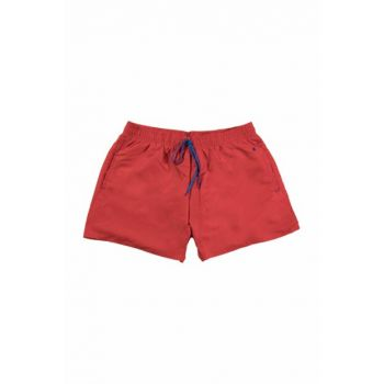 118-5031 RED Red Men's Shorts - Swimwear