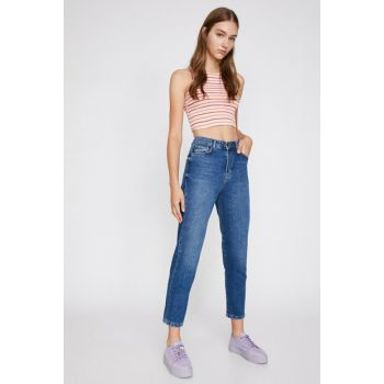 Women's Blue Mom Jean 0KAK47087DD