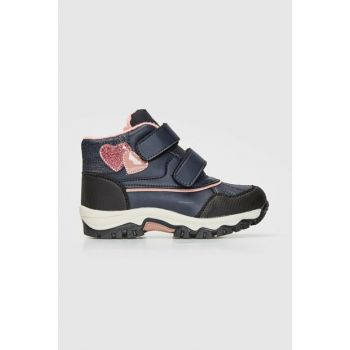 Girls' Navy Blue Crp Boots 9WJ480Z4