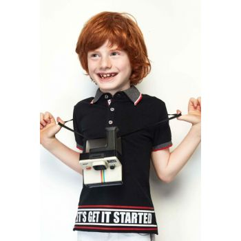 Boys Black T-Shirt 19SS0NB3512
