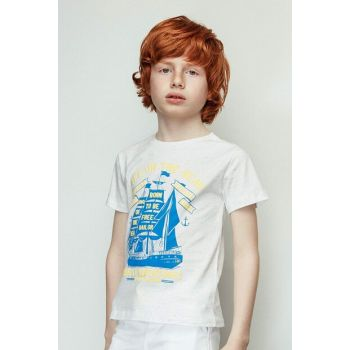 Boys Patterned T-Shirt 19SS2NB3564