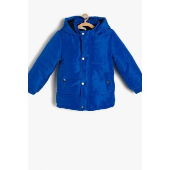 Saks Blue Boy Coat 9KKB06121GW