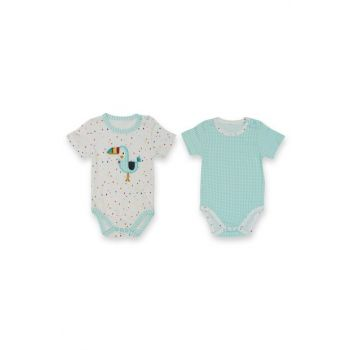 Little Zoo Toucan 2'Li Short Sleeve Badi Baby Cool VIP06286