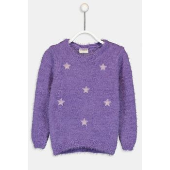 Girl Child Purple D1Y Sweater 9W9875Z4