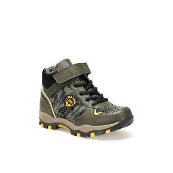 ALASKA Khaki Boys Outdoor Boots