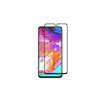 For Samsung Galaxy A70 Curved Full Covering 9d Screen Protector Film A70-9D-BLACK-ZNG