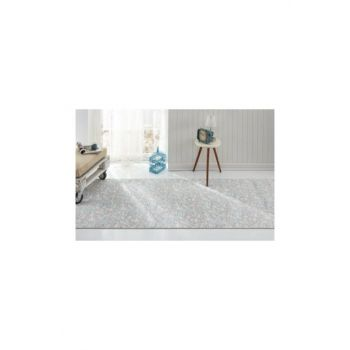 Carpet Turquoise Anti-Slip Floor Carpet Runner AS149