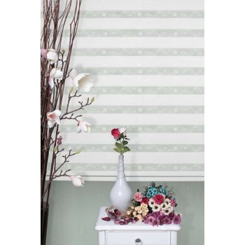 Zebra Roller Blinds Curtain + Skirt Slice Gift Z-101V71