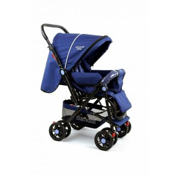 Baby P101 Bidirectional Luxury Baby Carriage - Rain Cover Foot Cover Gift 820300