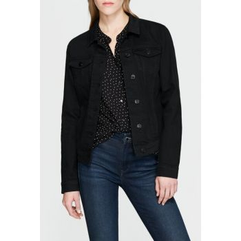 Women's Jean Jacket Daisy Black Str 1113627254