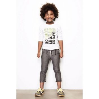 Boys' Gray Trousers 18FW0NB3215