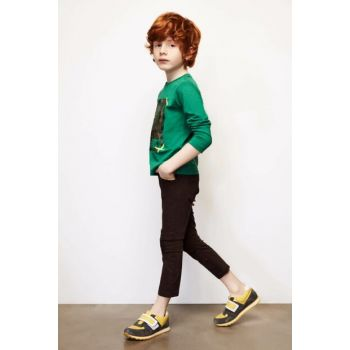 Boys' Coffee Trousers 18FW0NB3219
