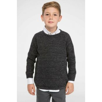 Black Sweater Pullover I9094A6.18AU.BK27