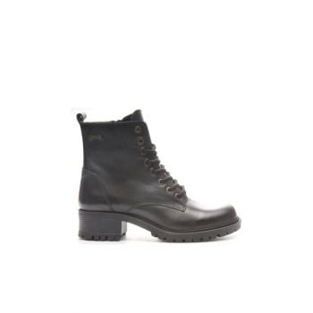 Genuine Leather Black Analin Women Boots TR_BUL-200544